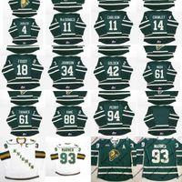 11 John Carlson 18 Liam Foudy 61 John Tavares 63 Cliff Pu 88 Patrick Kane OHL London Knights personalizado Hockey Jersey