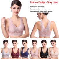 Wholesale- 2014 Fashion Style Womens Lady Sexy Comfy Lace Ves...