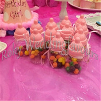 FREE SHIPPING 70PCS Baby Bottle Candy Box Party Supplies Bab...