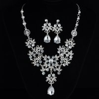 Luxury Crystal Rhinestone Necklace Jewelery Accessories Brid...