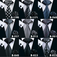 مان الأسود العلاقات الرسمية سابقا ربطة العنق مجموعة أزياء عالية الجودة العلاقات الحرير للرجال العلامة التجارية التعادل ربطة العنق
