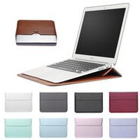 Leather Mail sack Sleeve Bag Case For Macbook Air 13 Pro Ret...