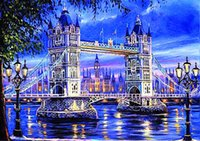 DIY 5D Diamond Painting Cross Stitch Bridge Full Diamond Diamond Вышивка Домашнее украшение Новая мода Handmade Crafts