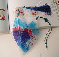 20 unids hojas secas naturales Lotus Bookmark Book card para la boda Baby Shower Party cumpleaños Favor regalo regalos souvenirs