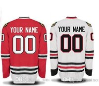 2016 New, 2015 Chicago Blackhawks Jersey Customized Red Blac...