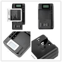 Yeni Gelmesi Cep Evrensel Pil Şarj Cep Telefonları Için LCD Göstergesi Ekran USB-Port