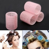 Hair Curle Styling Roller Curler Hairdressing DIY Tool 6pcs ...