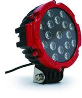 """Novità Luce da fuoristrada a LED da 7 """", luce da lavoro a LED da 51 W, guida a 12V / 24V su camion, Atv, 4WD, barca, miniera, carrelli elevatori a funzionamento a led"""