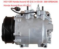 HS-110R ac Kompressor für Honda Accord Kombiwagen Euro VII (CL) 2003-2008 38800RAAA01 38810RBA006