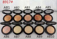 1 قطع 2016 المعادن skinfinish ماكياج مسحوق الطبيعية 10 ألوان الوجه مسحوق 10 جرام