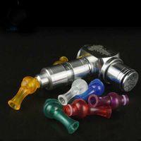 Swivel Rotable Rotating 510 ABS Drip Tips Munstycken för E CIGS VAPE MOD 360 graders dropptips Ecigarette