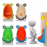 Kids PP Frog Children Stand Vertical Urinal Wall- Mounted Uri...
