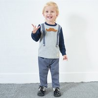 Yingzifang 2017 Autumn Boys Baby Casual Gentleman Cartoon Eu...