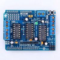 1x Blue L293D Control del motor Drive Shield Placa de expansión fr Arduino MegaUNO B00299 OSTH