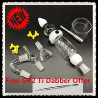 (wholesale best price)3. 0 Nectar nail Collector Glass kit fi...