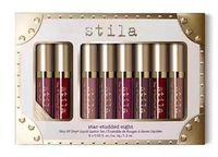Nouvelle marque de maquillage Stila 8pcs gloss Gloss Set Rouge à lèvres liquide Expédition DHL de haute qualité