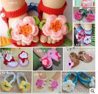 Подгонянные руки Детская обувь лето шелк льда хлопок детские мягкие нижние обувь младенческой малыша Дети LX2