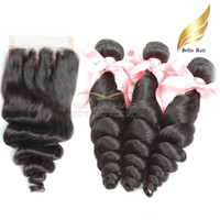 Weaves Closure Loose Wave Lace Closure 3 Part Peruvian Human...