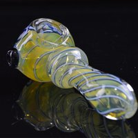 "3. 8"" inch Smoking Pipes Heady Oil Pipes Spoon Pipes Colo..."