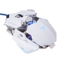 Combaterwing ماوس الألعاب USB بصري سلكي قابل للبرمجة 10 أزرار RGB التنفس LED الفئران لنظام التشغيل Windows XP / Vista / Windows 7 / Mac OS