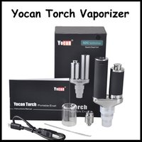 100%Original Yocan Torch Vaporizer Kit Wax Pen With Quartz D...