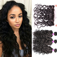 Ear To Ear Lace Frontal Closure With Bundles Brazilian Weave...