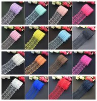 Wholesale Beautiful Handcrafted Embroidered Net Lace Fabric ...