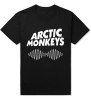 Arctic Monkeys Sound Wave Men T Shirts Indie Rock and Roll H...