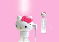 Wholesale Hello kitty USB Pet Bottle Humidifier, Pink Cat Por...