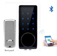 Hot Bluetooth Lock Smart Electronic Door Lock APP, Code, Dea...