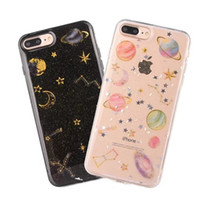 Space planet Glitter phone Cases for iphone 7 6 6s 6Plus 6sp...