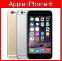 Yenilenmiş Orijinal Apple iPhone 6 Destek parmak izi Cep Telefonu 4.7 inç ROM 16GB A8 IOS 8.0 FDD Kilitli yenilenmiş cep telefonu