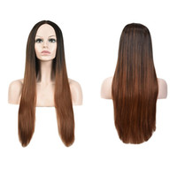 Z&F New Arraive Ombre Color 72CM Long Carve Straight Lolita ...