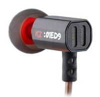 KZ ED9 Super Bowl Tuning Tunnels فوهات سماعة في الأذن يراقب سماعات HiFi مع ميكروفون صوت شفاف