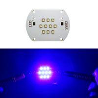 LG Chip 50W / 100W 450-455NM Royal Blue Led Module Light 30-36 V 1.5A / 3A Con Copper Board 120 Gradi FAI DA TE 25 pz / lotto