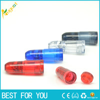 New hot Plastic Snuff Dispenser Bullet Rocket Snorter sunff ...