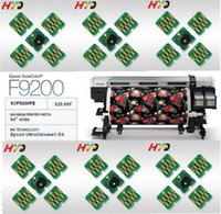 """DHL / FEDEX gratuito: 40 Piezas / Lote, (T7411 T7412 T7413 T7414) Chip de repuesto para Epson SureColor F9200 Impresora LD-D-Sub de 64 """"de ancho"""
