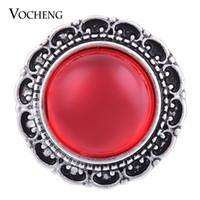 NOOSA 18mm Snap Button 4 couleurs pierres de naissance Vintage Ginger Snap Jewelry VOCHENG Vn-1068