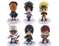 Q издание Naruto аниме фигурки коллекция ПВХ Наруто цифры модель игрушки набор фигурку игрушки бесплатная доставка