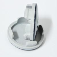 4 قطع ل فورد جديد مونديو كرنفال جديد فوكس abs البلاستيك عجلة مركز كاب ل فورد محور كاب شقة الوجه شارة شارة لفورد 54 ملليمتر