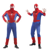 Hot New 3D Printing Marvel Spiderman Cosplay Costume Adult A...