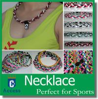 collane di raccoglitore di fondi della lega di piccolo sport collane di dichiarazione di sport di raccolta fondi varie dimensioni di colore