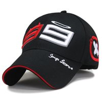 Wholesale-Outdoor Trucker Hat 99 Jorge Lorenzo Hats for Men Racing Cap Cotton Sports Motorcycle Racing Baseball Caps Car Sun Baseball Caps
