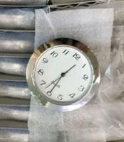 Запас 1 7/16 дюймов серебро пластиковые вставки часы standand размер арабский циферблат fit up часы pc21s movment
