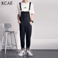 Wholesale- Denim Overalls Men Bib Jeans 2016 New Fashion Over...