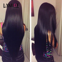 Virgin Brazilian Peruvian Malaysian Straight Human Hair Weav...