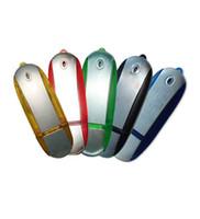 Sıcak şık u-disk Klas Alüminyum metal USB Flash Sürücü usb 2.0 hediye için gerçek kapasite usb kalem sürücü