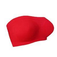 Atacado-Nova Moda Sólida Strapless Boob Tubo Top Brassiere Bandeau Sports Lingerie sem costura envolto Bra Respirável Underwear Atacado