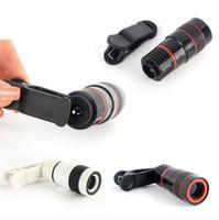 Свободный DHL объектив телескопа ого зум unniversal Оптическая камера Телеобъектив LEN с зажимом для Samsung HTC Sony LG мобильного смарта-мобильного телефона