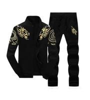 Zipper Jacket + Pant Polo Set Casual Uomo Sporting Suit Felpa con cappuccio da uomo Felpa da uomo Set di due pezzi